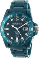 Haurex Italy Men's Caimano Date Dial Plastic Sport Watch B7354UBB
