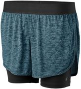 Champion Women's Vapor 6.2 Double-Layer Running Shorts