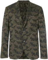 Neil Barrett camouflage blazer