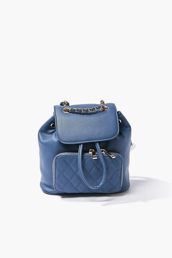 Thumbnail for your product : Forever 21 Pebbled Drawstring Backpack