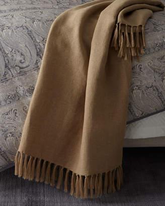"""Ralph Lauren Home Elton Throw Blanket, 54"""" x 72"""""""