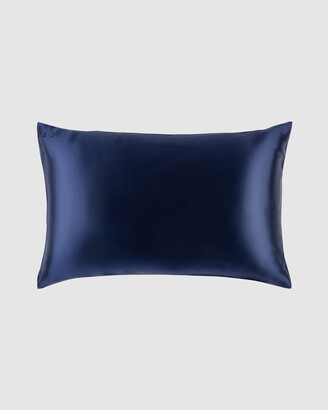 Slip Blue Sleep - Queen Pillowcase Envelope Closure - Size One Size at The Iconic
