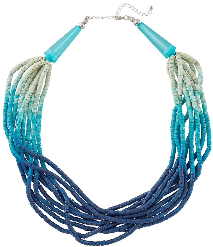 Coldwater Creek Tropic heishi necklace