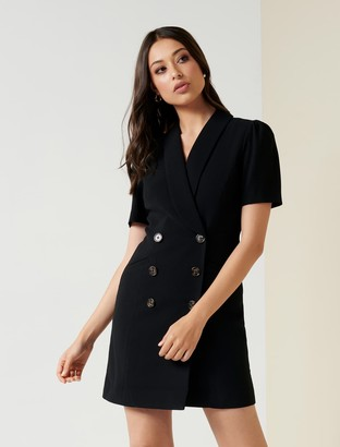 Forever New Anita Blazer Dress - Black - 6