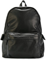 Ann Demeulemeester flap pocket backpack - unisex - Leather - One Size