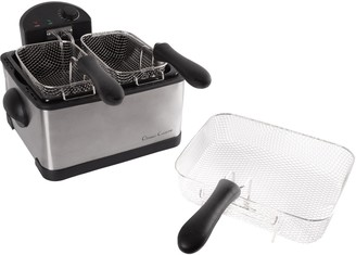 Classic Cuisine 4-liter Electric Deep Fryer with 3 Fry Basket