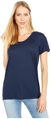 Alternative Kimber Short Sleeve Tee (Army Green) Women's T Shirt