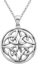 Celtic Sterling Silver Pendant Necklace