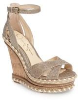 Jessica Simpson Women's Ahnika Platform Wedge Sandal
