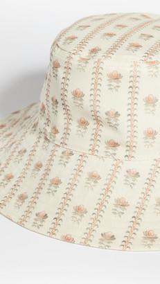Loeffler Randall Hester Wide Brim Reversible Bucket Hat