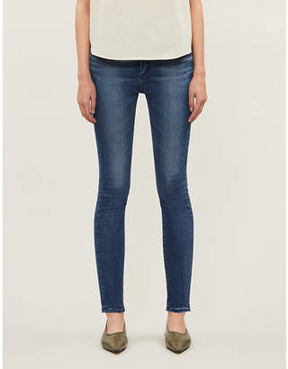 Selfridges Moussy Vintage Willows Rebirth cropped skinny low-rise jeans