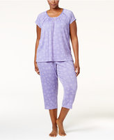 Charter Club Plus Size Lightweight Pajama Set, Only at Macy's