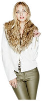 G by Guess GByGUESS Women's Natasha Faux-Leather Jacket