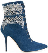 Manolo Blahnik DANCEHALL COWGIRL JEWEL