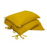 Numero 74 Bed linen set - sunflower yellow