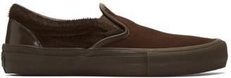 Engineered Garments Brown Vans Edition Classic V Slip-On Sneakers