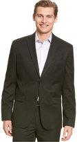 Calvin Klein Men's Solid 2 Button Blazer