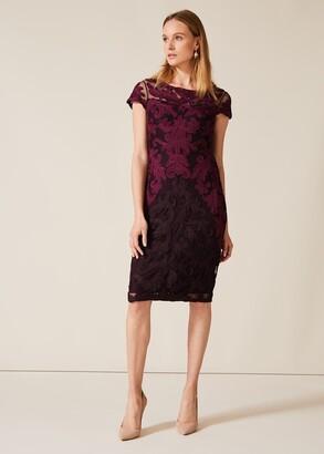 Phase Eight Aida Tapework Lace Dress