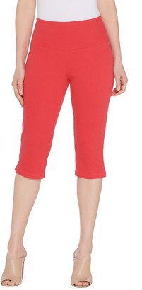 Women With Control Petite Prime Stretch Tummy Control Pedal Pushers
