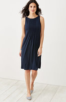 J. Jill Wearever Pintucked Tank Dress