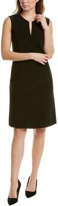 Lafayette 148 New York Brett Linen-Blend Sheath Dress
