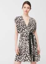 MANGO Flowy Print Dress