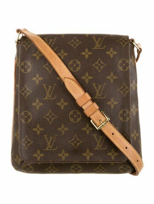 Louis Vuitton Monogram Musette Salsa Brown