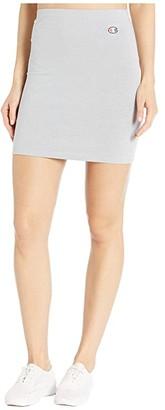 Champion LIFE Small C Skirt (Oxford Gray) Women's Skirt