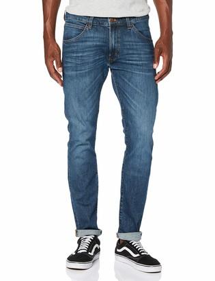 Wrangler Men's BRYSON BLACK Jeans Blue (BLACK) W28/L34