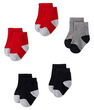 Petit Bateau Baby Chaussettes_5140002 Calf Socks,(Size: P15 POINTURE 15/18 NAI/3Months) (Pack of 5)