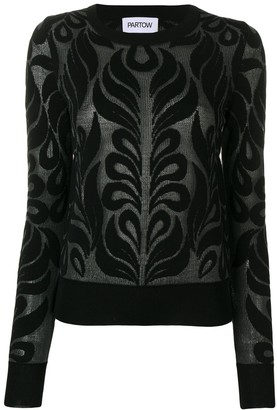 PARTOW Anise patterned jumper