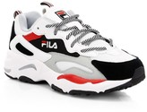 Fila Kid's Ray Tracer Leather Sneakers