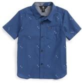Volcom Toddler Boy's Floyd Woven Shirt