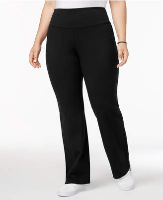Style&Co. Style & Co Plus Size Tummy-Control Bootcut Yoga Pants