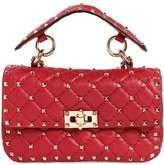 Valentino Small Spike Leather Shoulder Bag