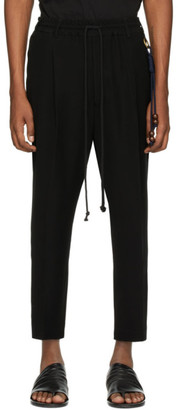 Song For The Mute Black Jersey Lounge Pants
