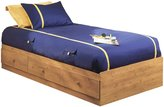 Green Baby South Shore Little Treasures Collection Twin (39'') Mates Bed - Country Pine
