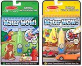Melissa & Doug Vehicles and Animals Water Wow Bundle