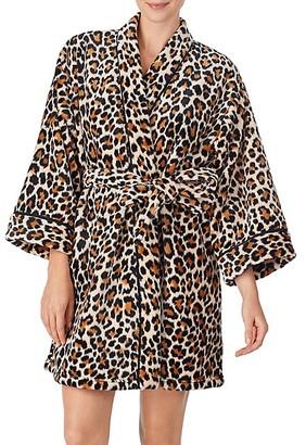 Kate Spade Leopard-Print Short Robe