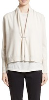 Fabiana Filippi Women's Wool, Silk & Cashmere Shawl Collar Cardigan