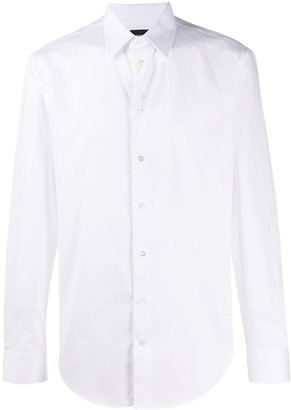 Emporio Armani Long-Sleeve Fitted Shirt