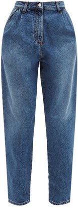 MSGM High-rise Boyfriend Jeans - Denim