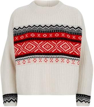 Max Mara Wool Fair Isle Sweater