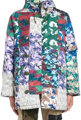 Gosha Rubchinskiy camo N-3b Jacket