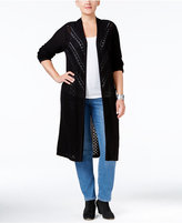 Style&Co. Style & Co. Plus Size Duster Cardigan, Only at Macy's