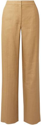 Theory Twill Straight-leg Pants