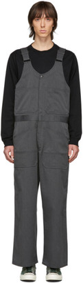 Beams Grey Work Overalls
