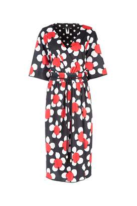 Marc Jacobs Floral Wrap Dress