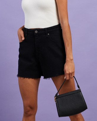 Abrand - Women's Black Denim - A Venice Shorts - Size 6 at The Iconic