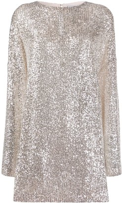 In The Mood For Love Alexandra sequined mini dress